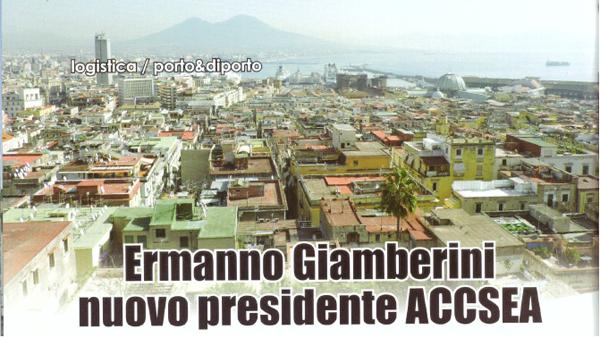 Rassegna Stampa -Porto&Diporto- Intervista ad Ermanno Giamberini, nuovo Presidente A.C.C.S.E.A